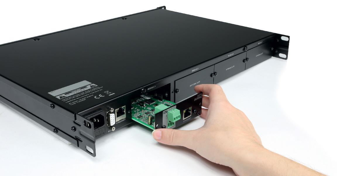 Système modulaire AUDAC XMP44
